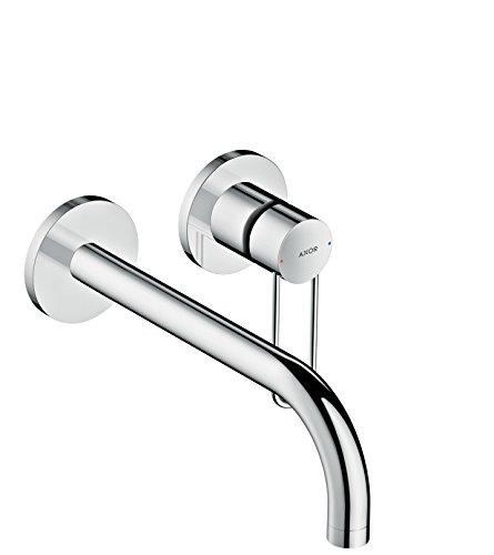 AXOR Wasserhahn Uno Einhebel-Waschtischarmatur, Unterputz, Wandmontage, 225 mm Auslauf, Chrom