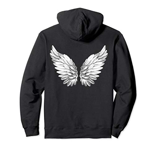 Engelsflügel Weiß Engel Flügel Engelflügel Angelwings Engel Pullover Hoodie