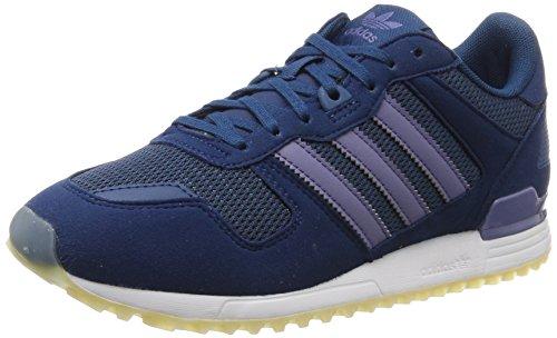 adidas Originals Women's Zx 700 W Low-Top Sneakers, Blue Night/Super Purple, 3.5 UK