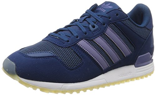 adidas Women's Originals Zx 700 W Low-top Sneakers, Blue Night/Super Purple, Size 7