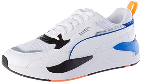 Puma 37310802, Cross Trainer Unisex Adulto, Blanco White White Black Lapis Blue, 37 EU