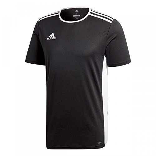 adidas Entrada 18 JSY T-Shirt, Hombre, Black/White, S