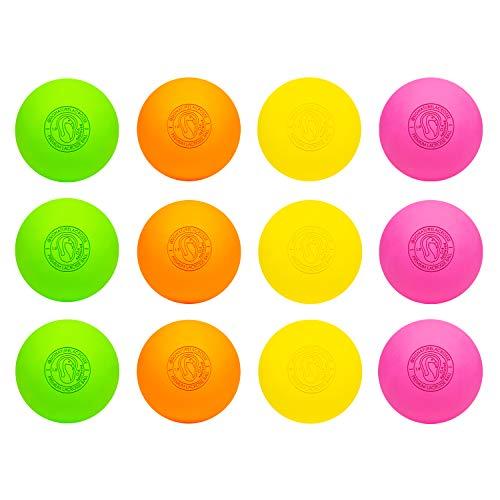 Signature Lacrosse Ball Set - Massage Balls, Myofascial Release Tools, Back Roller, Muscle Knot...