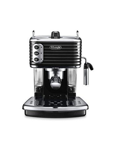 De'Longhi Scultura Traditional Barista Pump Espresso Machine, Coffee and Cappuccino Maker, ECZ351BK, Black
