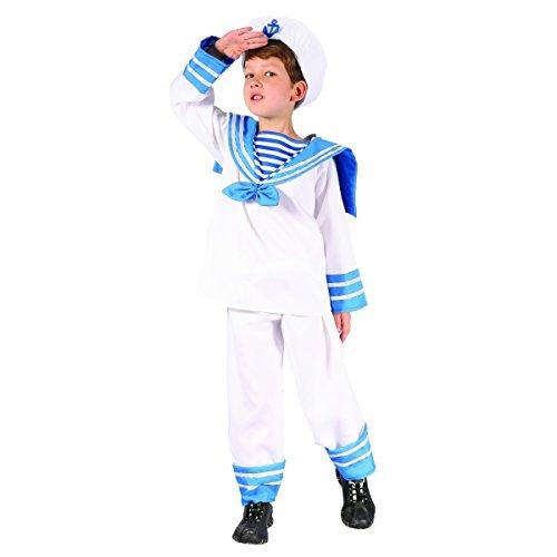 Costume da marinaretto per bambino 7/9 anni (122/134)