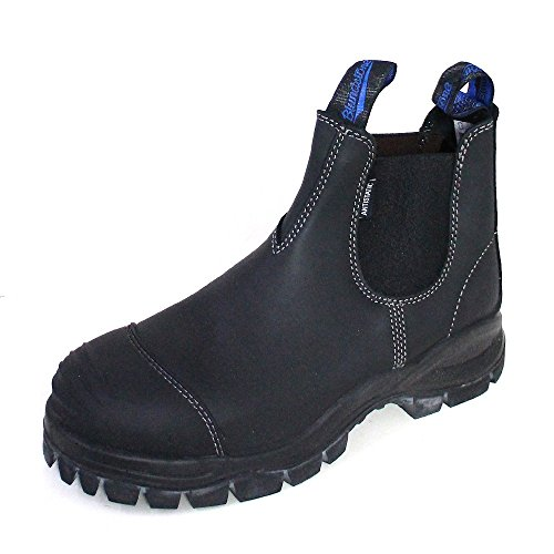 Blundstone Unisex-Erwachsene Work & Safety Boots Chelsea-Stiefel, Schwarzes Platin, 43 EU
