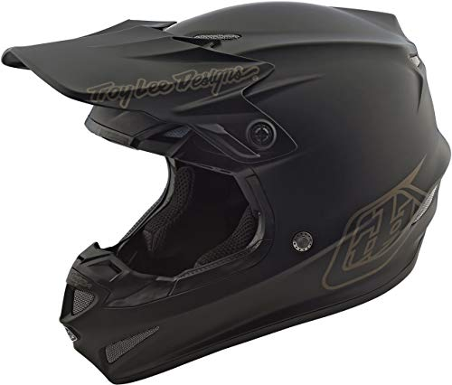 Casco Mx Troy Lee Designs 2018 Se4 Mono Polyacrylite Negro (M , Negro)