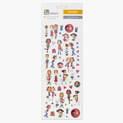 Fun Stickers Fashion Friends 510