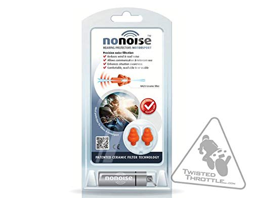 NoNoise for Motorsport's Ear Protection (New Gen w NN20 Ceramic...