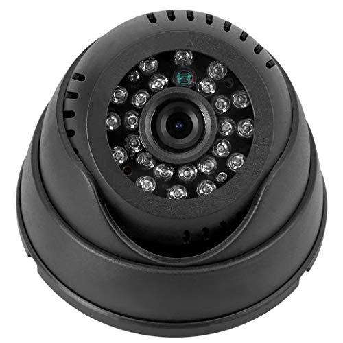 Facibom Cámara CCTV cámara de grabación domo cámara de seguridad interior CCTV cámara de seguridad / tarjeta TF visión nocturna grabadora DVR todo en uno sistema de seguridad