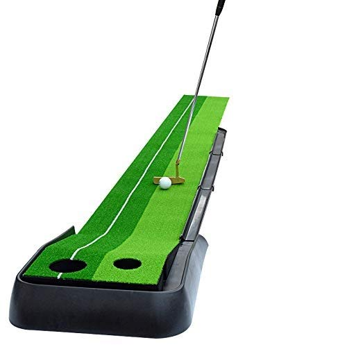Best Prices! ZTJQD Practice Hitting Mat 1 x 2.5m - Realistic Synthetic Grass with Shock Absorbing EV...