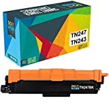 Do it wiser TN247 TN243 Cartucho de Tóner Compatible con Brother HL-L3210CW HL-L3230CDW HL-L3270CDW MFC-L3750CDW MFC-L3710CW MFC-L3770CDW DCP-L3550CDW DCP-L3510CDW (Negro)