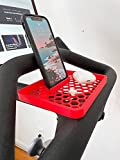 Essentials Tray for Peloton Bike | Clip-On Tray for Smartphone, Headphones, and Accessories | Accessories for Peloton (Black)