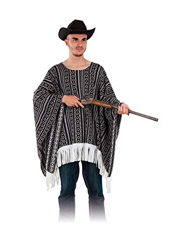 DISBACANAL Poncho Vaquero para Adulto