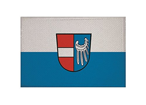 U24 Aufnäher Endingen am Kaiserstuhl Fahne Flagge Aufbügler Patch 9 x 6 cm