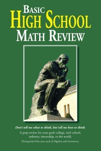 Basic High School Math Review
