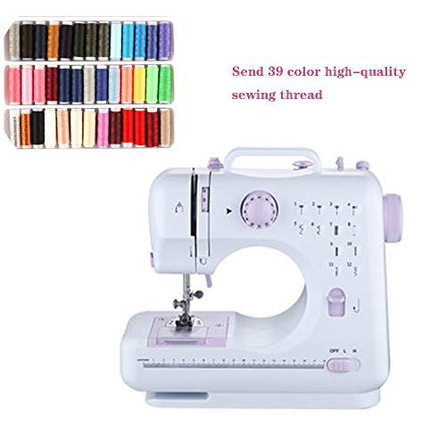 Handdoek Ringen Mini Handheld Compact Draagbare Naaimachine Met Voet Pedaal 12 Steken Zware Naai Huishoudelijke Tool Voor Stof Kleding Kids Doek Thuis Gebruik 11 * 4.72 * 9.5 in