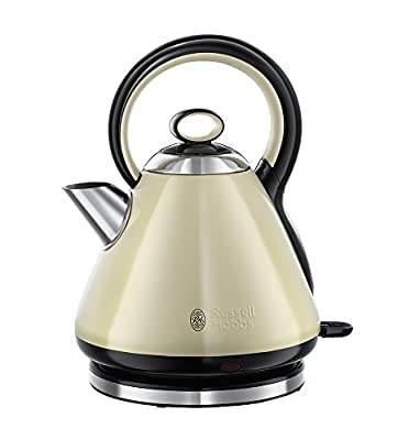Russell Hobbs Legacy 3000 W Fast Boil Kettle 21882 - Cream by Russell Hobbs