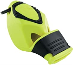 Fox 40 Classic Epik CMG Whistle with Lanyard Referee-coach, Safety Alert, Survival (Neon Yellow)