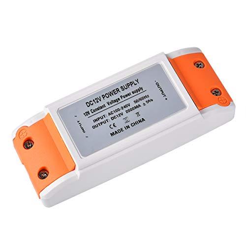 LED trafo 12V LED Transformator 0-24W LED Treibe Driver Netzteil Stabilisierte Spannungsquelle für LED Lichtstreifen, Schrank Licht, LED-Anzeige, Deck Licht, LED Display, MR16, G4, MR11