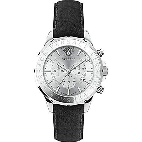 Versace Herren Armbanduhr Herrenuhr Chronograph Chrono Signat VEV6001 19