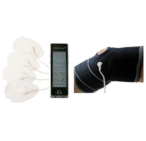 HealthmateForever 10 modos Electro masaje terapia máquina de pantalla táctil