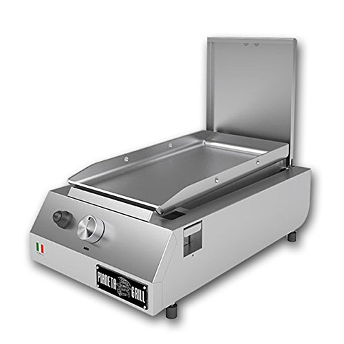 Barbecue à gaz Fry Top 250de soutien double utilisation: Plaque et réchaud
