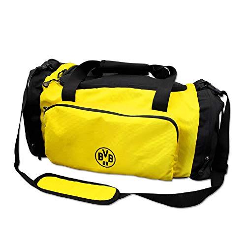 Borussia Dortmund BVB-Sporttasche, schwarzgelb, one Size