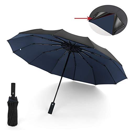 XNY Soleggiato Ombrello, Ombrello Pieghevole, Affari Double Layer Apertura 12 Bone Automatico Tre Volte Umbrella111,B