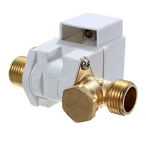 KUNSE Válvula Electromagnética Eléctrica De La Ca 220V 1/2Inch N/C para El Aire del Agua