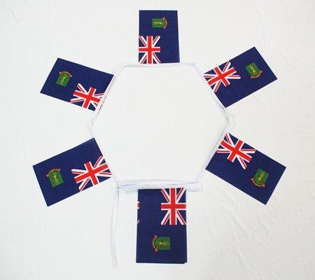 6m 20fanions drapeau Îles Vierges britanniques