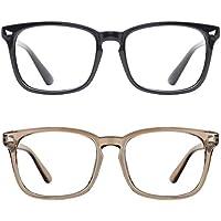 2-Pack TIJN Blue Light Blocking Glasses