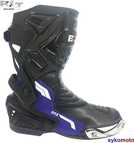 FORMA Stivali da Moto Strada TX Omologata CE 44 Nero//Bianco//Giallo Fluo