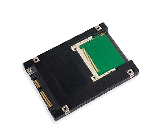 Syba - Adaptador de Compact Flash a Doble Interfaz SATA II y USB 2.0 (2,5