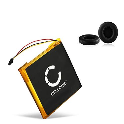CELLONIC Akku + Ohrpolster kompatibel mit Beats Solo 2.0, Solo 3.0 - Beats AEC353535 (350mAh) Ersatzakku