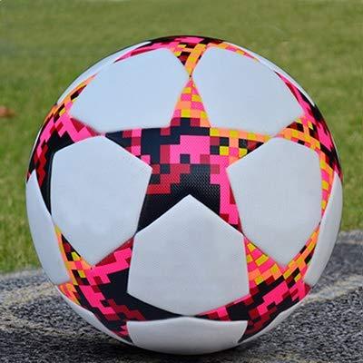 Raqueta de bádminton Badminton set sin fisuras tamaño de una pelota de fútbol de fútbol 5 equipos de formación profesional práctica de juego de equipo deportivo gol en la Copa de fútbol de fútbol, f