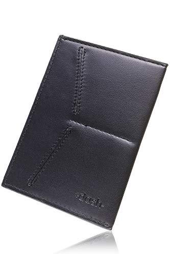 パスポートケース【Dash Travel Wallet】 シンプルで薄い財布 スキミング防止 海外旅行 ミニマリスト 【180日間保証】 (クラシックレザー)