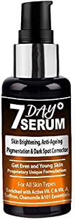 7 Day Serum - Youthful Glow Facial & Skin Serum Formula