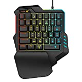 Fdrone Gaming Keypad,T15 Wired Gaming Keypad with...