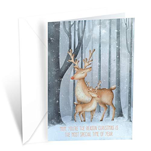 Prime Greetings Christmas Card Mom