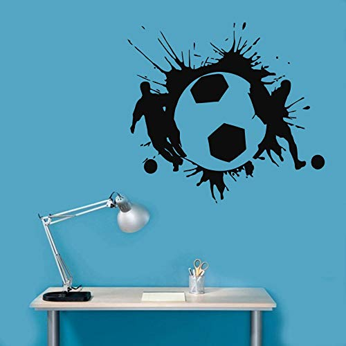 Geiqianjiumai voetballer sticker aftrekplaatjes kunst wandschilderijen sportruimte en decoratie verkrijgbaar behang aftrekplaatjes nieuw
