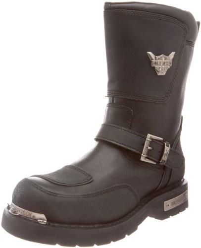 Harley-Davidson Men's Shift Motorcycle Boot,Black,8.5 M US