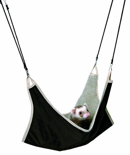 TRIXIE Hamaca Hurones, 45 × 45 cm, Marrón-Beige, Pequeños Mamíferos