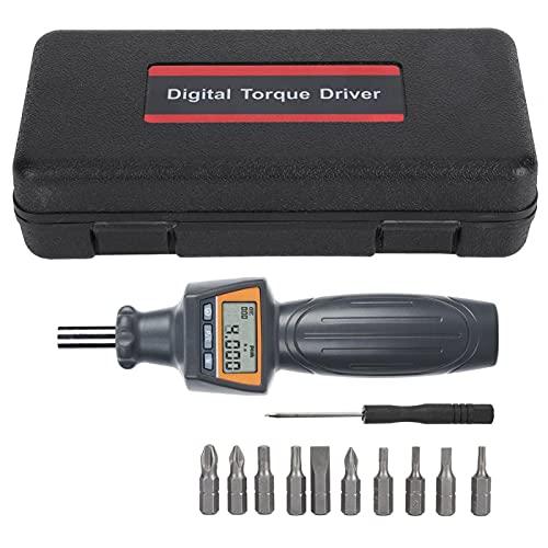 EVTSCAN Último destornillador de torsión digital, destornillador ajustable ZNS-4 Llaves de dinamómetro electrónico, almacenamiento de cuatro datos, llaves dinamométricas portátiles Plug and Play