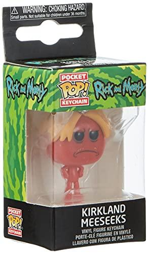 POP! KEYCHAIN: Rick & Morty - Kirkland Meeseeks