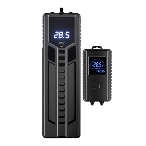 XDD - Calefacción para acuarios PTC extraíble, muy rápida recopilación del calor, seguridad y ahorro de energía, vigilancia en tiempo real con dos sondas de temperatura