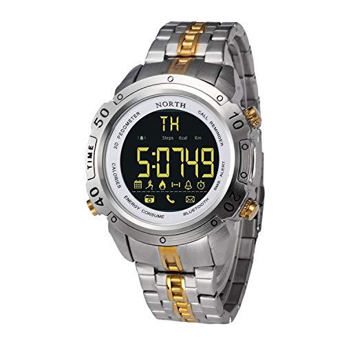 ZHANGZZ North Reloj,Reloj de Alta Gama, Reloj para Hombre Reloj Inteligente explosión...