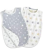 TWONE(トォネ)スリーパー ベビー 赤ちゃん 寝袋 6重ガーゼ (商標6247448)女の子 男の子 オーガニックコットン100% 柔らかく お昼寝 寝冷え防止 通気性 新生児~3歳まで 出産お祝い ギフト