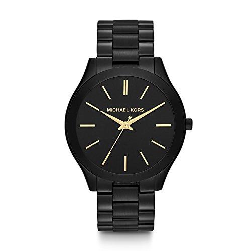 Michael Kors Damen Analog Quarz Uhr mit Edelstahl Armband MK3221