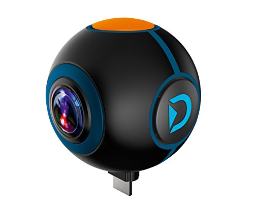 Discovery Adventures 8785108 HD 1024P 720° Android Action Camera Spy